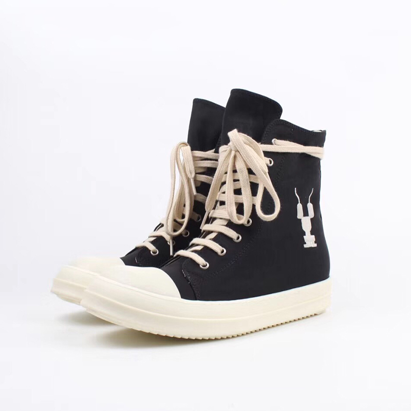 Black High Top Sneakers - PerfectKickZ
