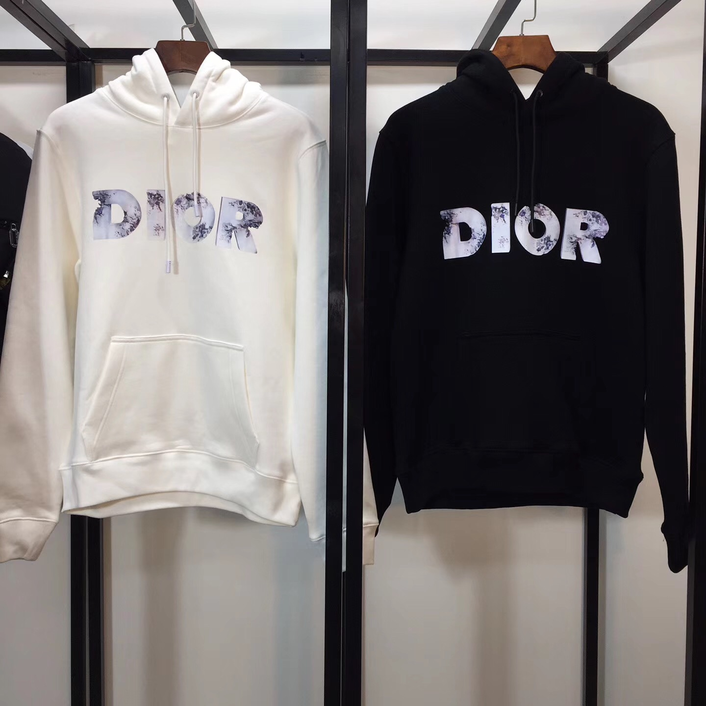 Molton Hoodie with DANIEL ARSHAM eroded-effect 3D Printed Logo  - PerfectKickZ