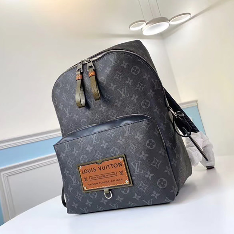 Monogram Eclipse Canvas Backpack Bag - PerfectKickZ
