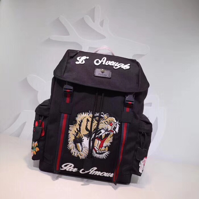 Backpack with Embroidery - PerfectKickZ