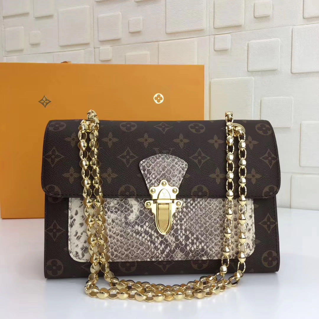 Victoire Monogram Canvas Handbag - PerfectKickZ