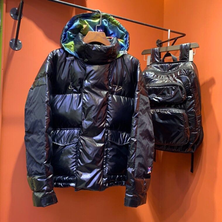 Backpack Nylon Down Puffer Blouson - PerfectKickZ