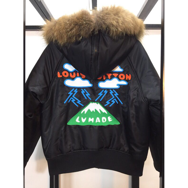 Embroidered Mountain Aviator Blouson - PerfectKickZ