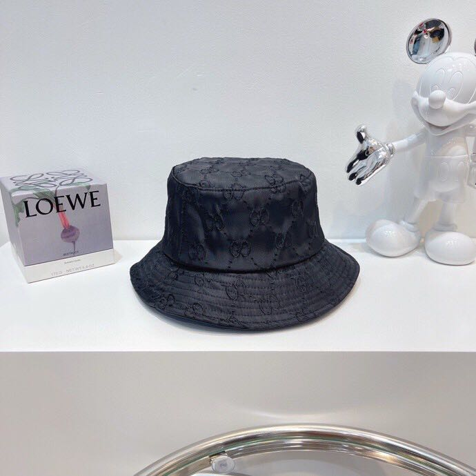 GG lamé bucket hat in black - PerfectKickZ