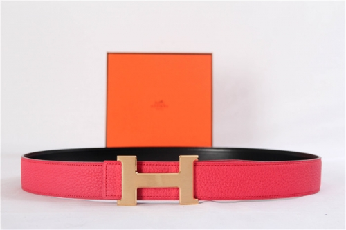 Limited Quality Belt Red reversible Gold Buckle - PerfectKickZ