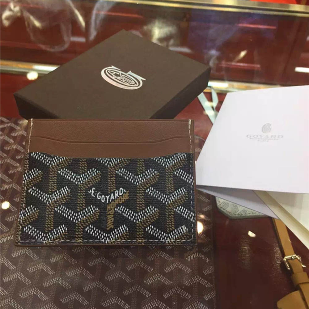 Card Holder Brown - PerfectKickZ