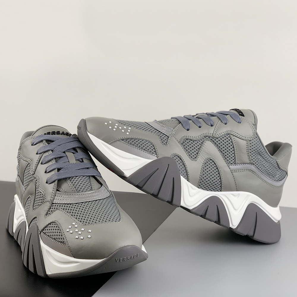 Squalo Sneakers in Gray - PerfectKickZ