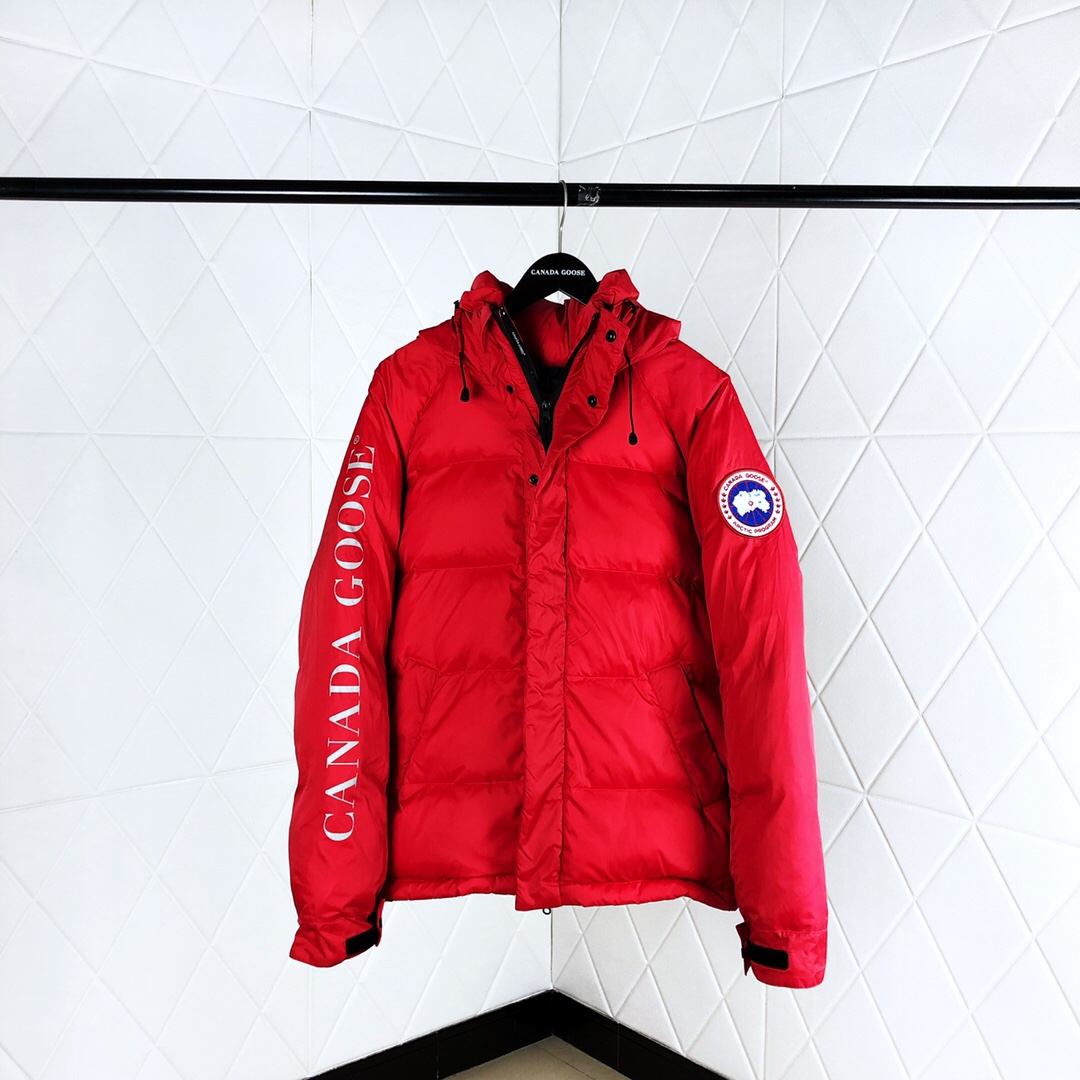 Down Jacket in Red - PerfectKickZ