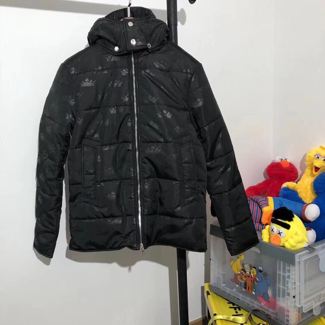 DOLCE & GABBANA Black Down Jacket - PerfectKickZ