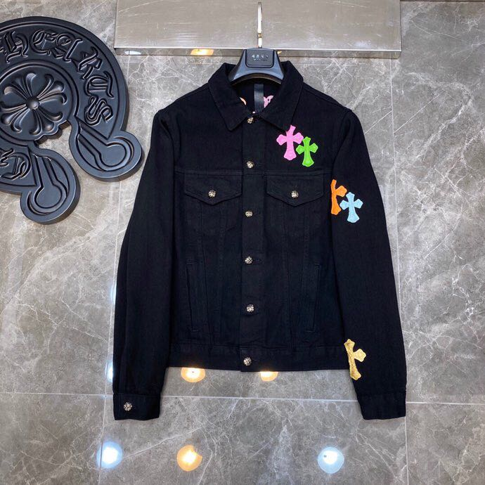 Cross Patch Denim Jacket - PerfectKickZ