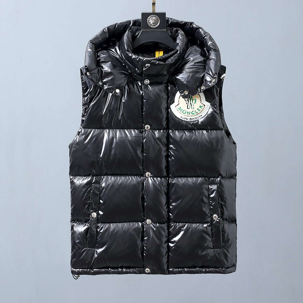 Black Down Ghany Vest - PerfectKickZ