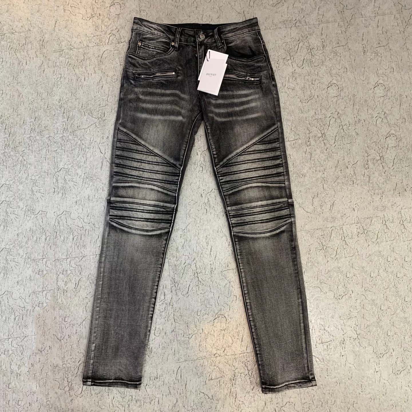Black Slim-fit Jeans  - PerfectKickZ