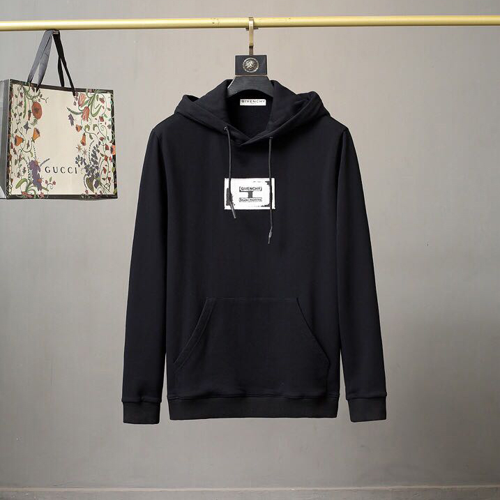 Studio Homme Hoodie With Patch  - PerfectKickZ