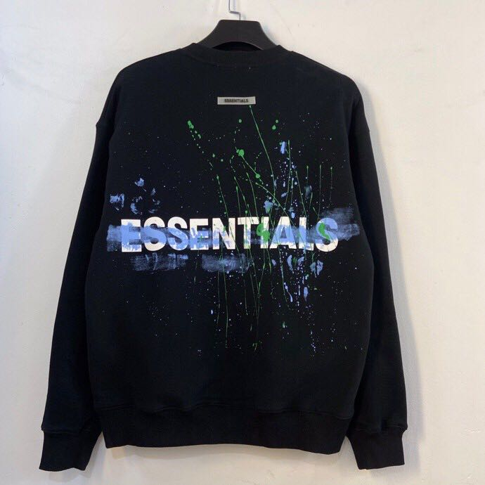 Splash ink Printed Essentials Hoodie - PerfectKickZ