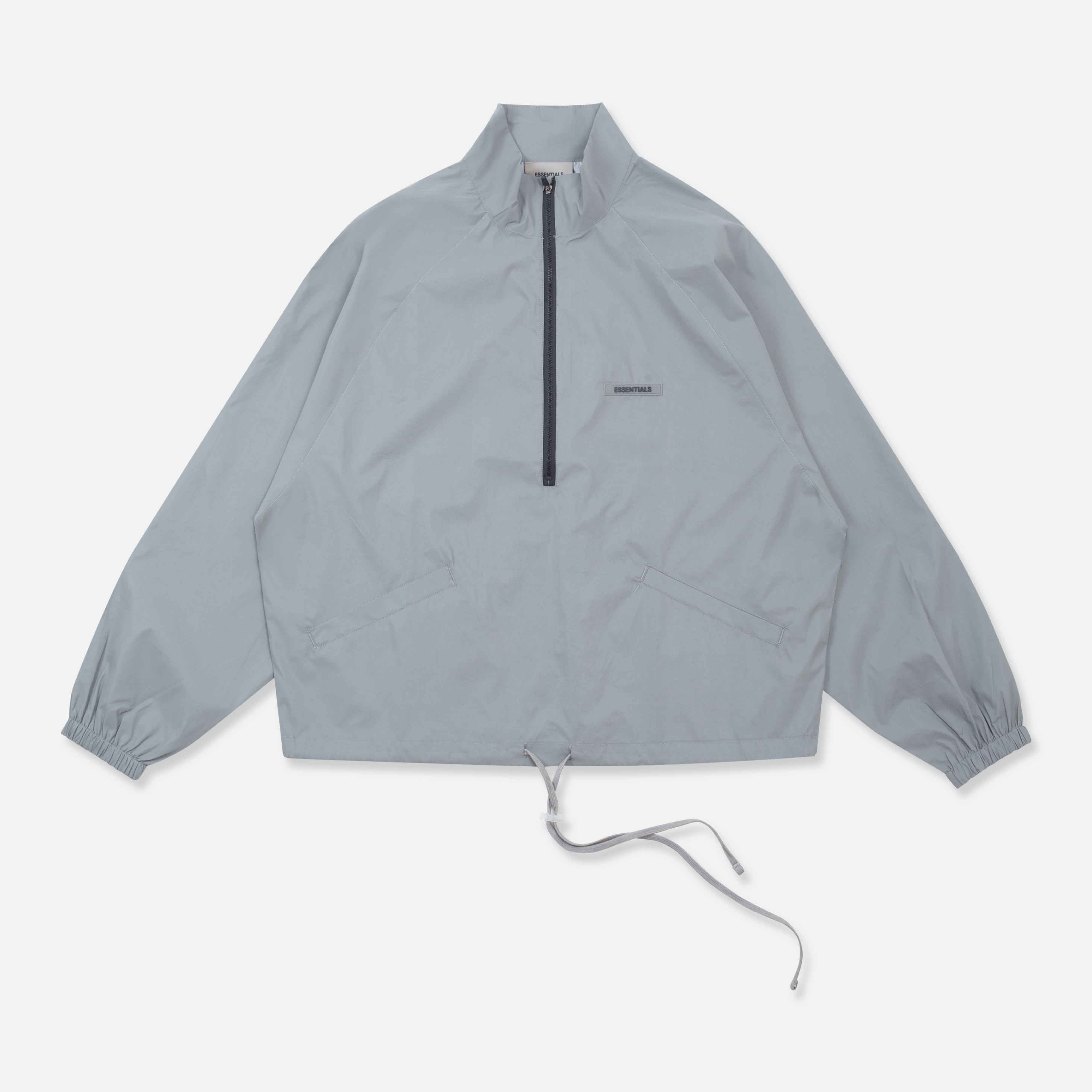 Logo-Appliqued Cotton and Nylon-Blend Half-Zip Track Jacket - PerfectKickZ