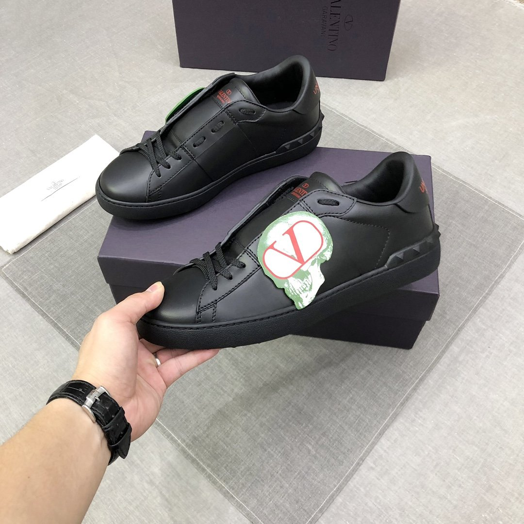 Undercover Logo Patch Sneakers - PerfectKickZ