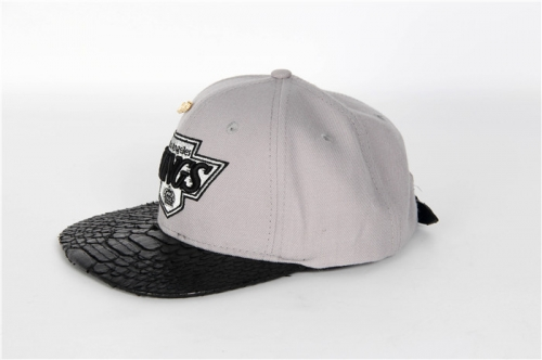 Mitchell & Ness Official Snakeskin Cap in Grey - PerfectKickZ